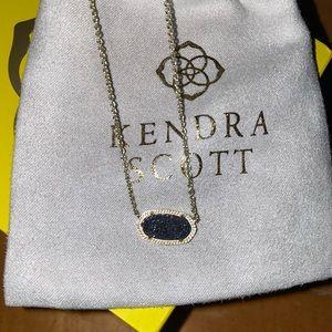 Elisa Gold Pendant Necklace